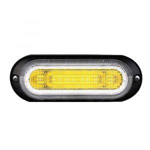 Amber Warning Lamp with DRL Halo - Part No 1001-1745