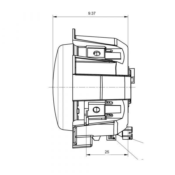 Iveco Stralis Spot Lamp - Product Spec1 - Part No 1001-4040