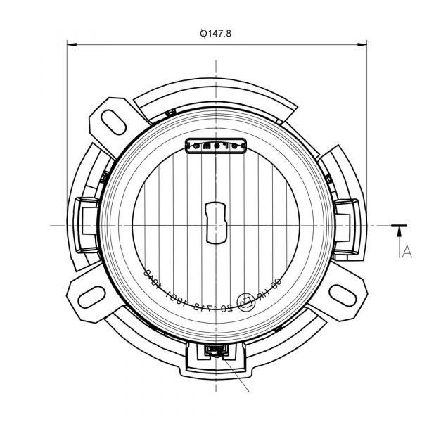 Iveco Stralis Spot Lamp - Product Spec2 - Part No 1001-4040