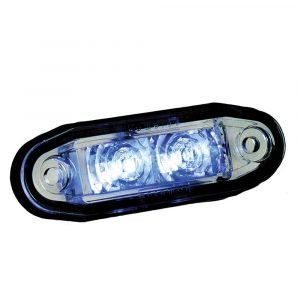LED Cosmetic Marker Lamps - Blue - Part No 1001-3005-B