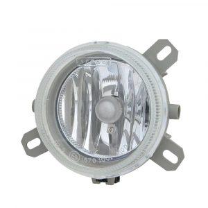 Renault Magnum Fog Lamp - Clear - Part No 1001-4100-C