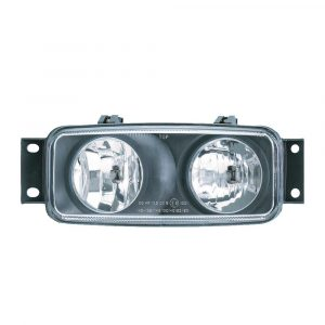 Scania 4 Series Dual Spot and Fog Lamp - Left Hand - Part No 1001-0185