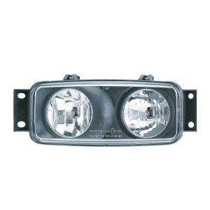 Scania 4 Series Dual Spot and Fog Lamp - Right Hand - Part No 1001-0190