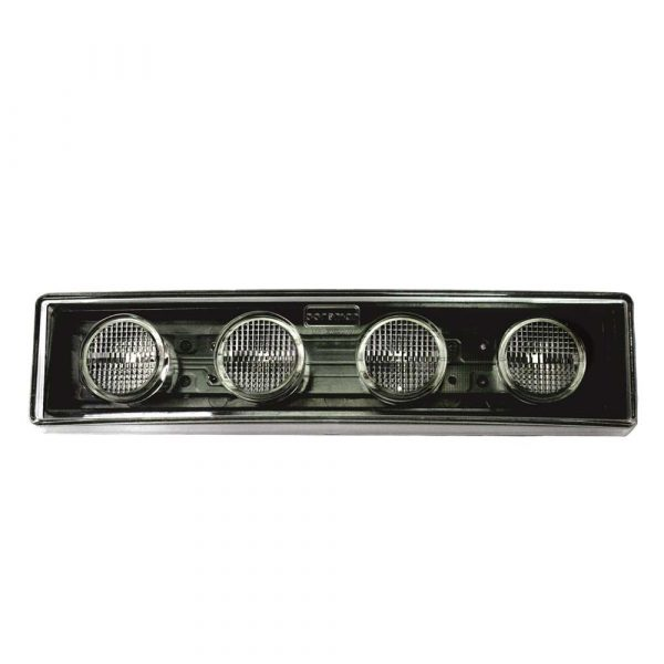 Scania 4 and R Series LED Visor Lamp - Clear - Part No 1001-3110-C