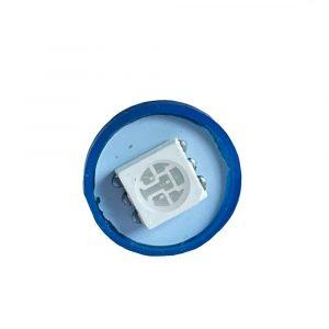 Super Brite LED Bulb - 24V - Blue - Front - Part No 2002-2105-B