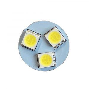 Ultra Brite - 8 x LED Bulb - 24V - White - Front View Bulb - Part No 2002-2135-W