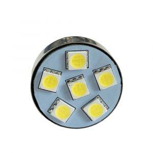 Ultra Brite - 8 x LED Bulb - 24V - White - Front View - Part No 2002-2145-W