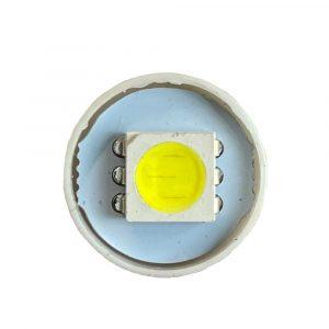 Ultra Brite - 8 x LED Bulb - 24V - White - Front View - Part No 2002-2155-W