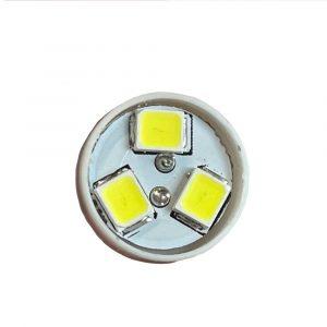 Ultra Brite - 8 x LED Bulb - 24V - White - Front View - Part No 2002-2165-W