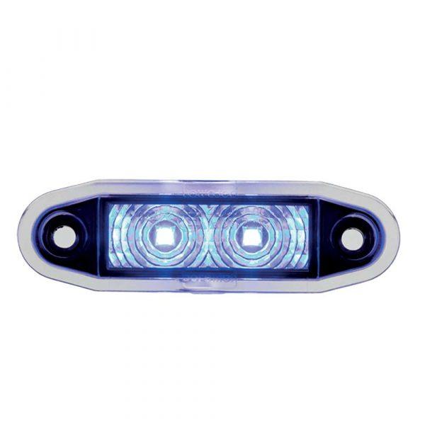 Easy Fit Flush Marker Fit Lamp - Blue - Part No 1001-4500-B