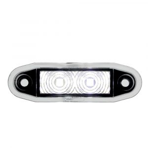 Easy Fit Flush Marker Fit Lamp - Clear - Part No 1001-4500-C
