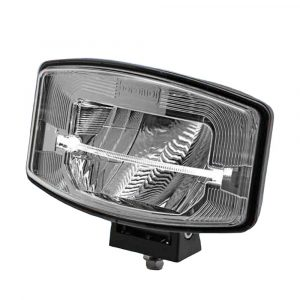 Full LED Driving Lamp with Light Bar - Side View - Brilliant Silver - Part No 1001-1685