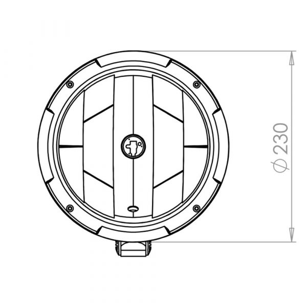 Optical Driving Lamp - Product Spec1 - Part No 1001-2010