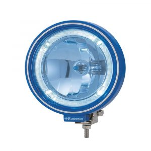 Optical Driving Lamp with LED Ring - Blue - Part No 1001-1000-B