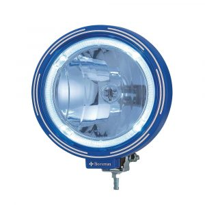 Optical Driving Light with LED Ring - Blue - Part No 1001-0990-B